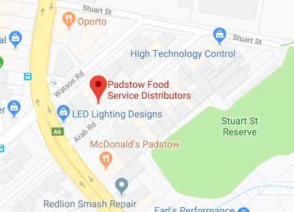 Padstow Food Service Distributors Factory Outlet Shop Location On Map
